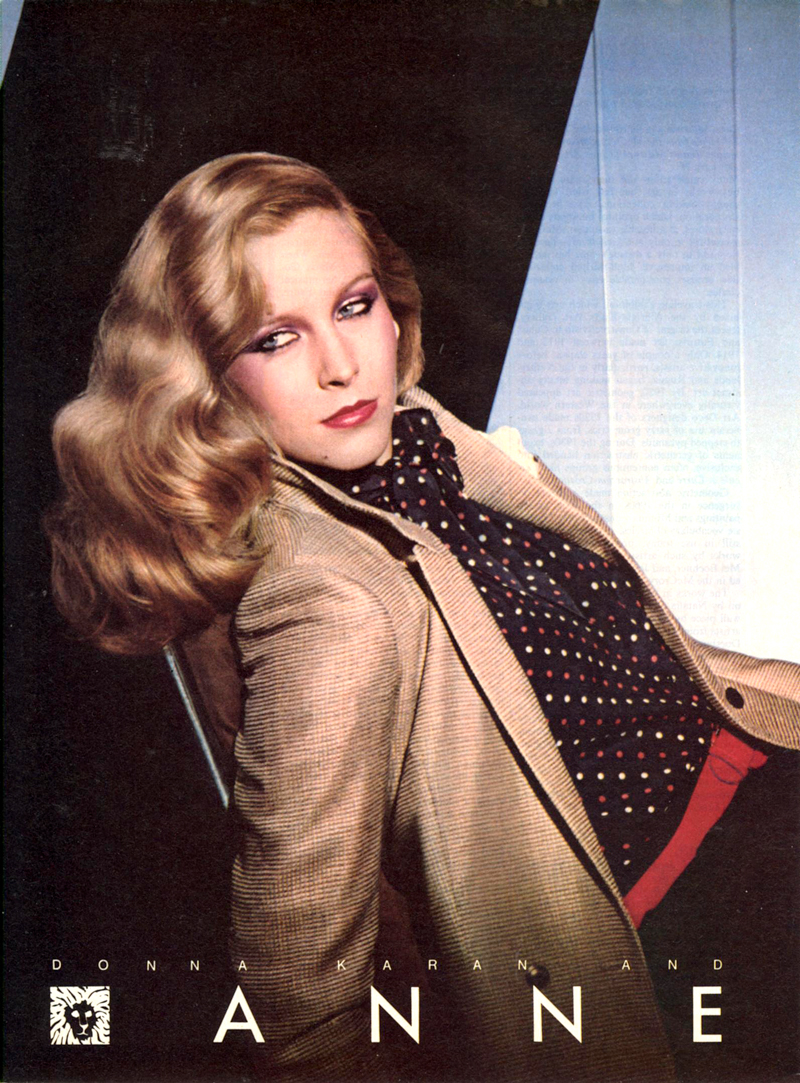 Donna Karan for Anne Klein campaign 1980
