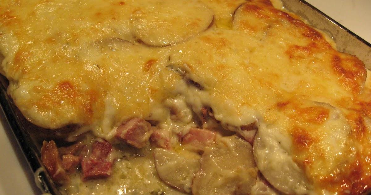 Recettes de flipp gratin de pommes de terre au jambon - Gratin de pomme de terre jambon ...