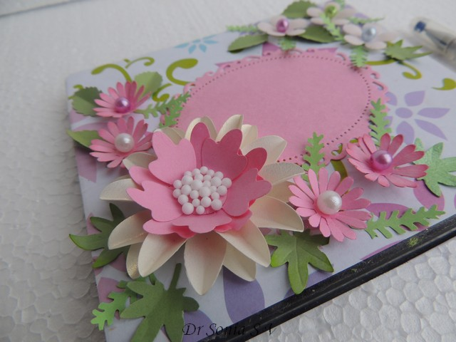 Ideas For Making Greeting Cards For Teachers Day Part - 50: Paper Flowers