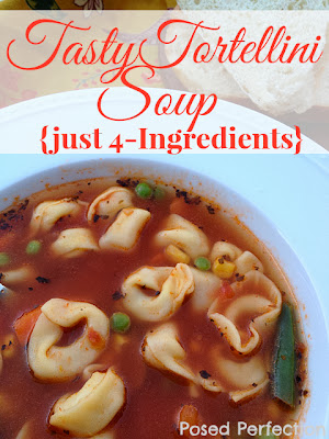 tasty tortellini soup