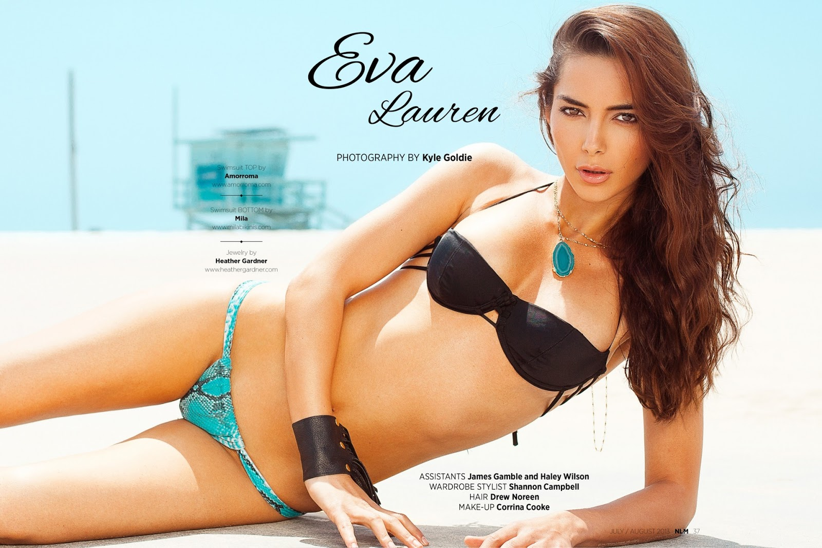 Corinna B's World: Eva Lauren for Next Level Magazine