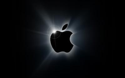 Apple Logo black background: Intelligent Computing