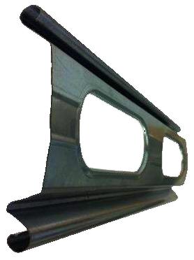 Lama troquelada hierro galvanizado