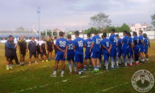 Latihan Perdana Persib Bandung