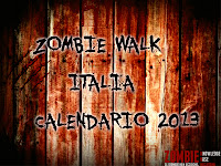 Calendario Zombie Walk Italia 2013