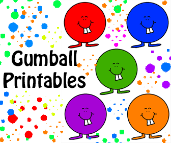 Gumball Printables