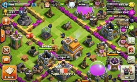 Strategi Dasar Bermain Game Clash of Clans (CoC)