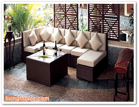 Lovely Patio Furniture Ideas For Small Space 2015