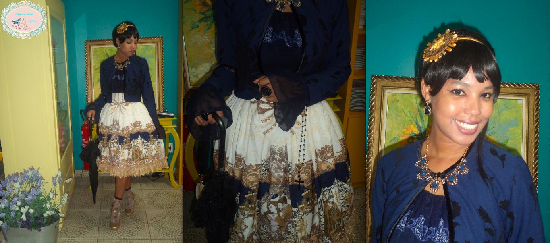 outfit, coordinate, look, ANgel of Music, Haenuli, Fantasma da Ópera, lolita fashion, classic, classical, blog Delírios de Consumo, jennysakura