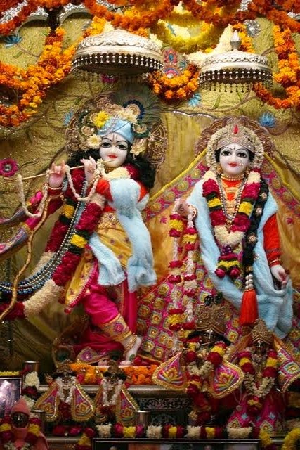 Sri Sri Radha Vrindavana Chandra - Full Darshan