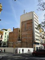 Málaga, solar resultado de demolición de edificio histórico en calle Alameda Principal 22 esquina calle Torregorda