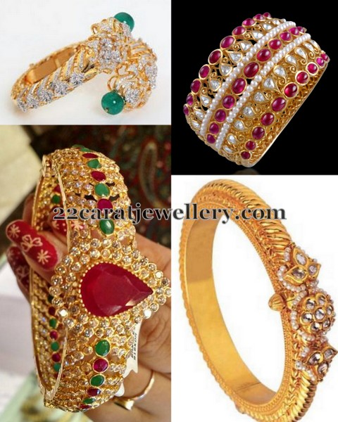 Broad CZ Diamond Bangles Gallery