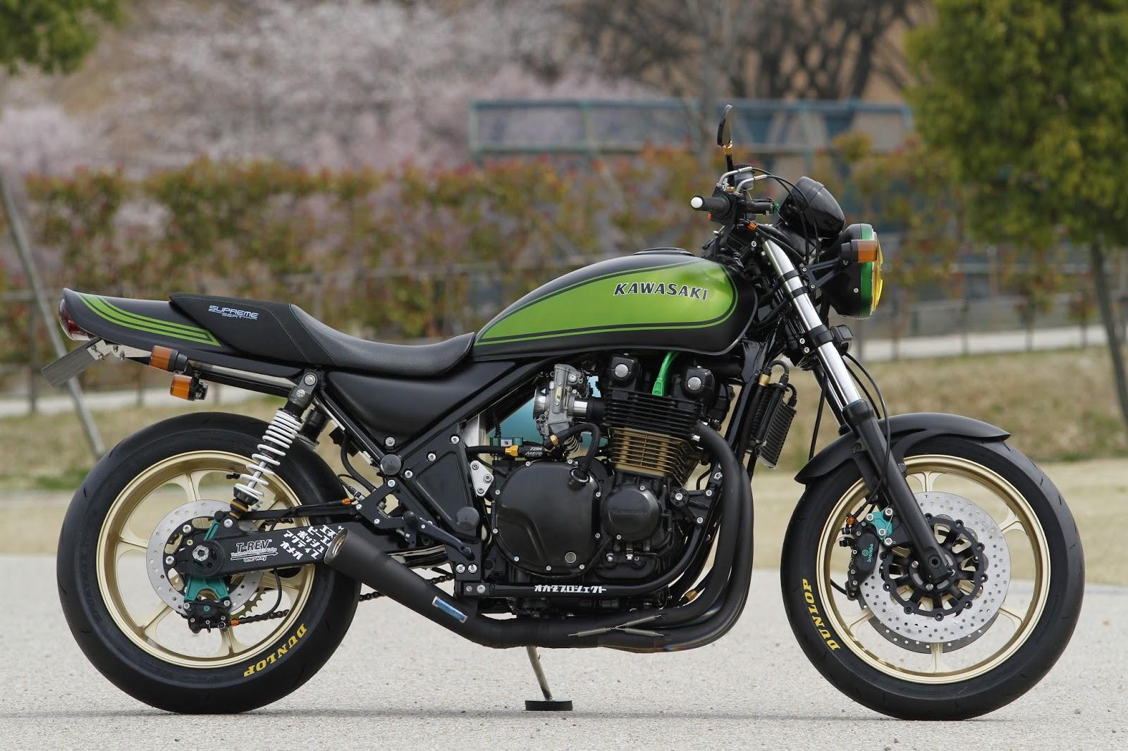 racing cafè: kawasaki zephyr 1100shabon dama