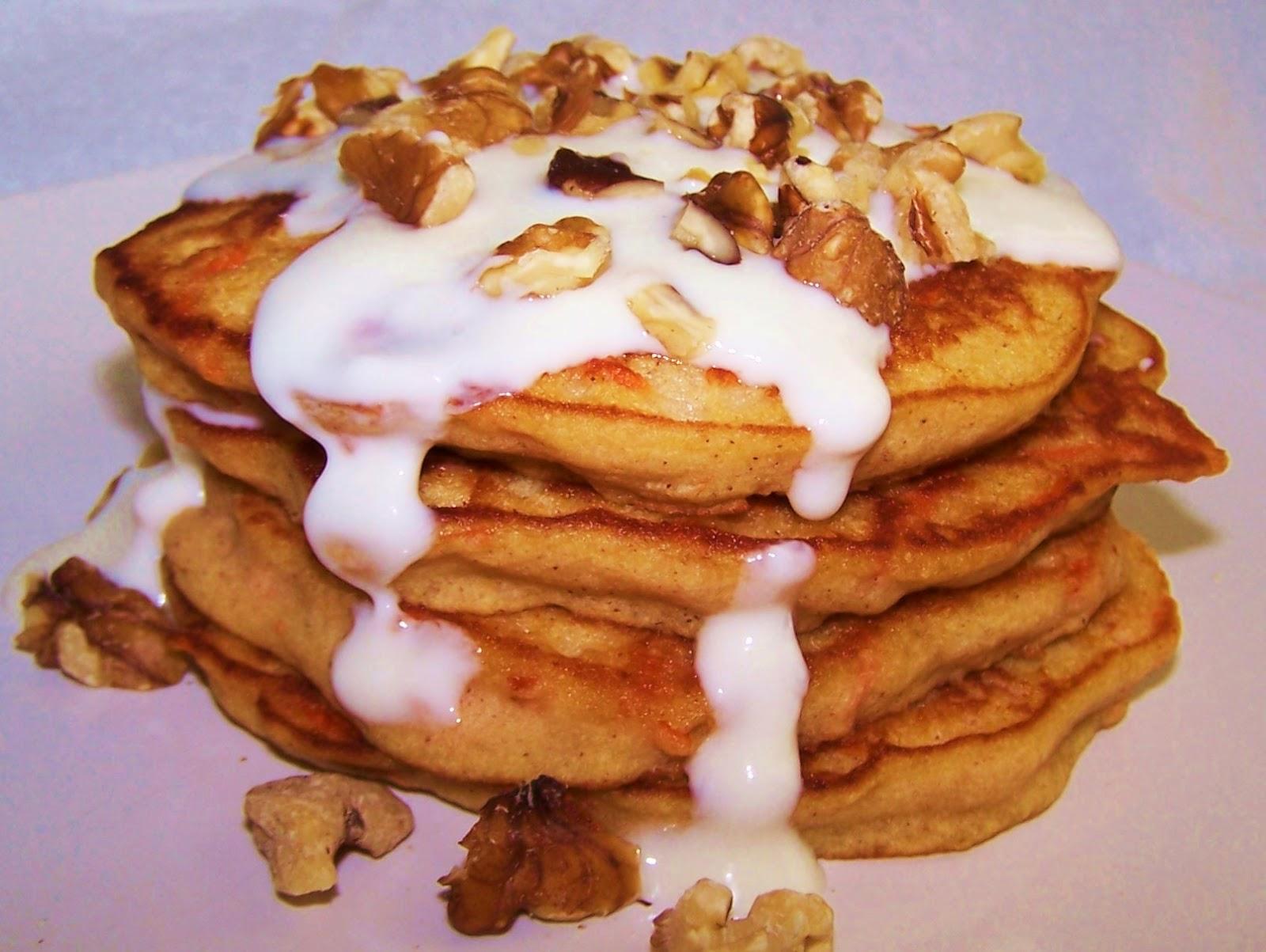 EZ Gluten Free: Gluten Free Carrot Cake Pancakes