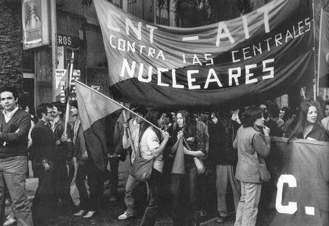 CNT AIT Contra las Centrales Nucleares