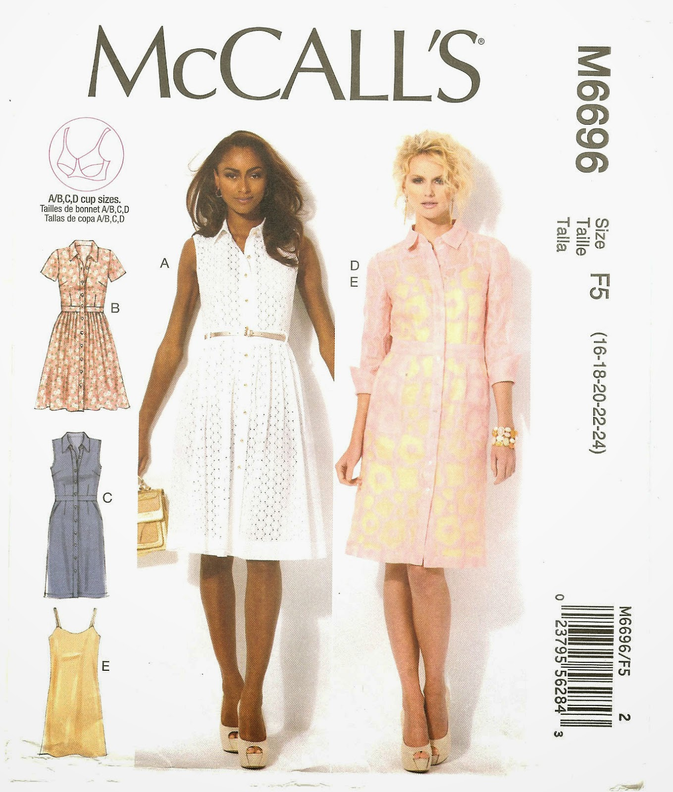 Mcalls M6696 Pattern