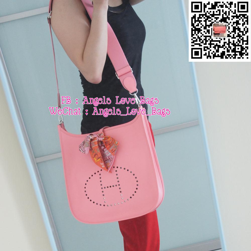 Angels Love Bags - The Fashion Buyer: ? HERMES Evelyne III GM ...