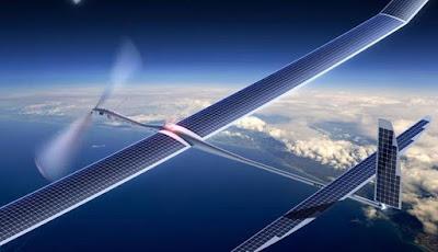 Drone Aquila de Facebook