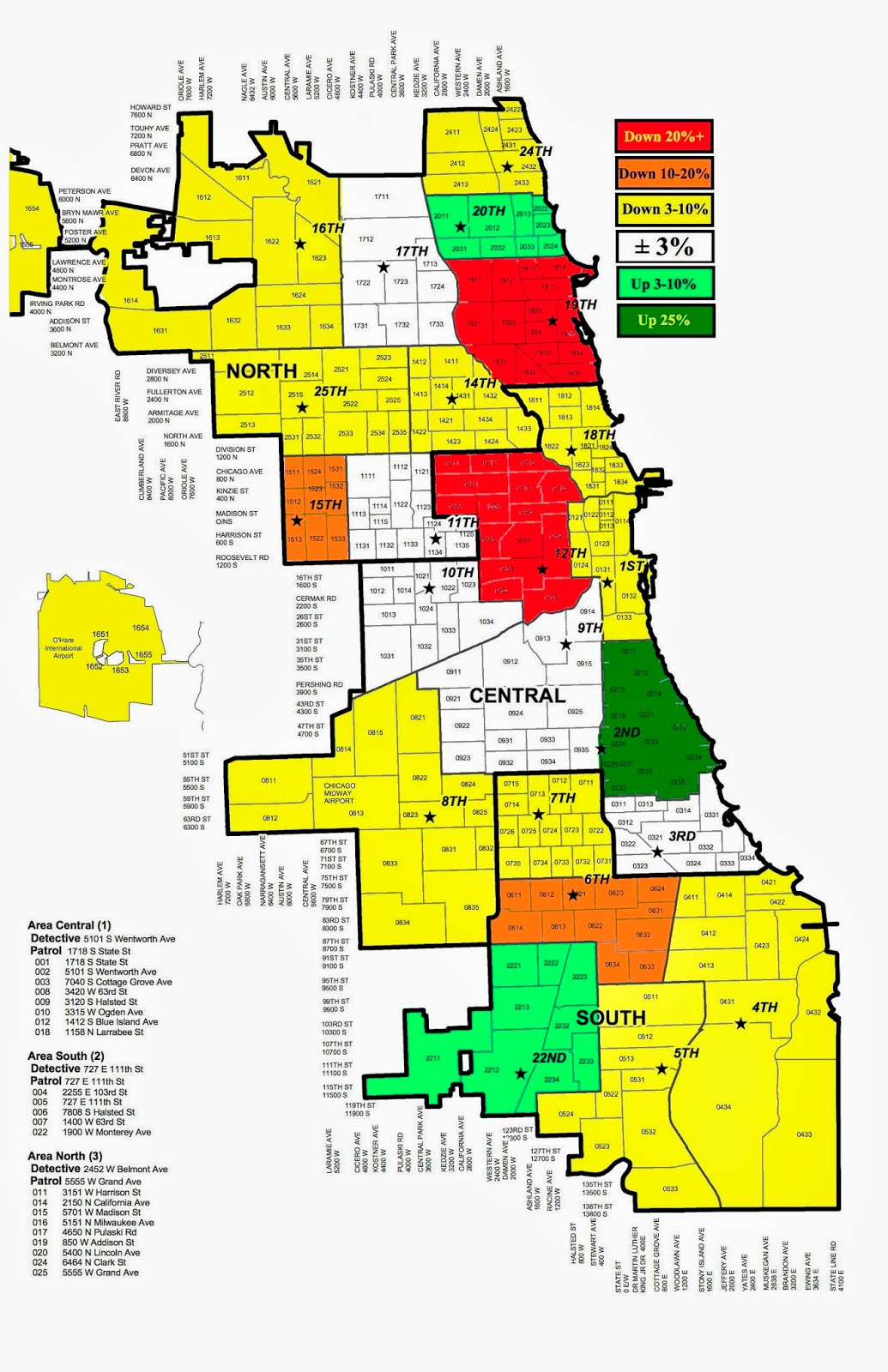 ICJIA A State And National Overview Of The Opioid And Heroin - Chicago map time zone
