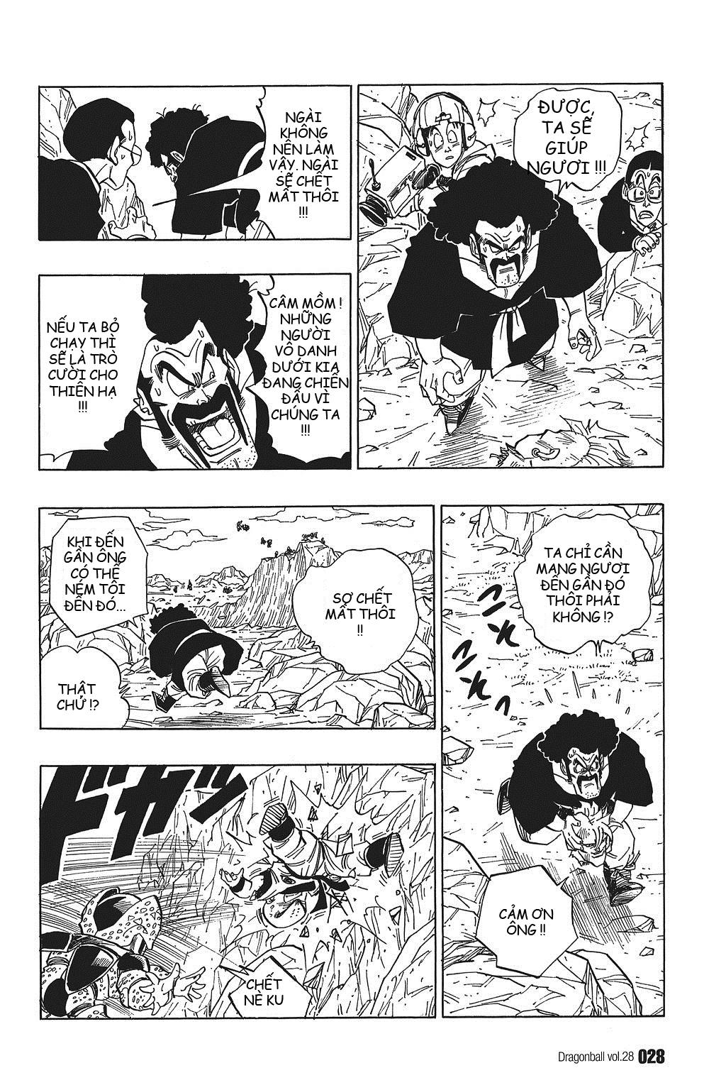 xem truyen moi - Dragon Ball Bản Vip - Bản Đẹp Nguyên Gốc Chap 407