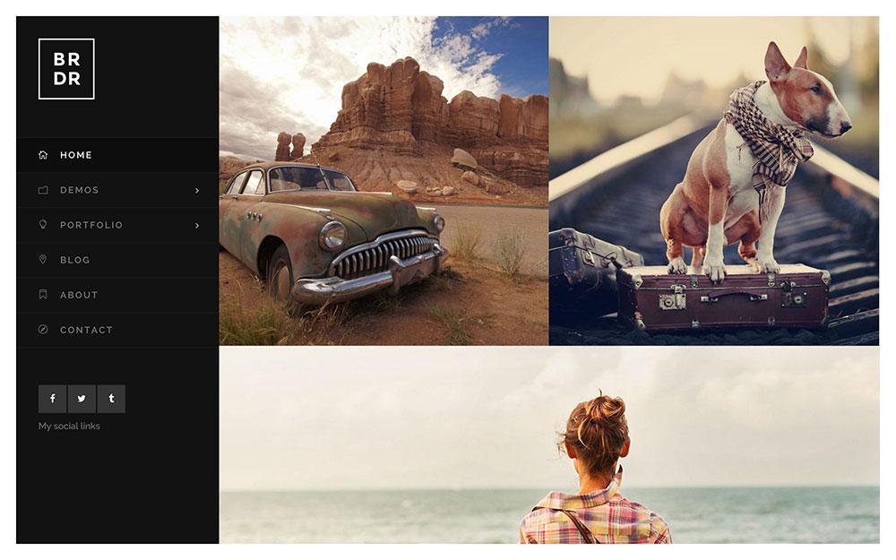 borderland-photographer-wordpress-theme