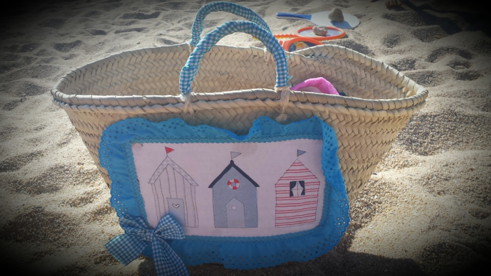 El vestidor de mi princesa cerramos agosto con m s cestos - Cestas de playa personalizadas ...