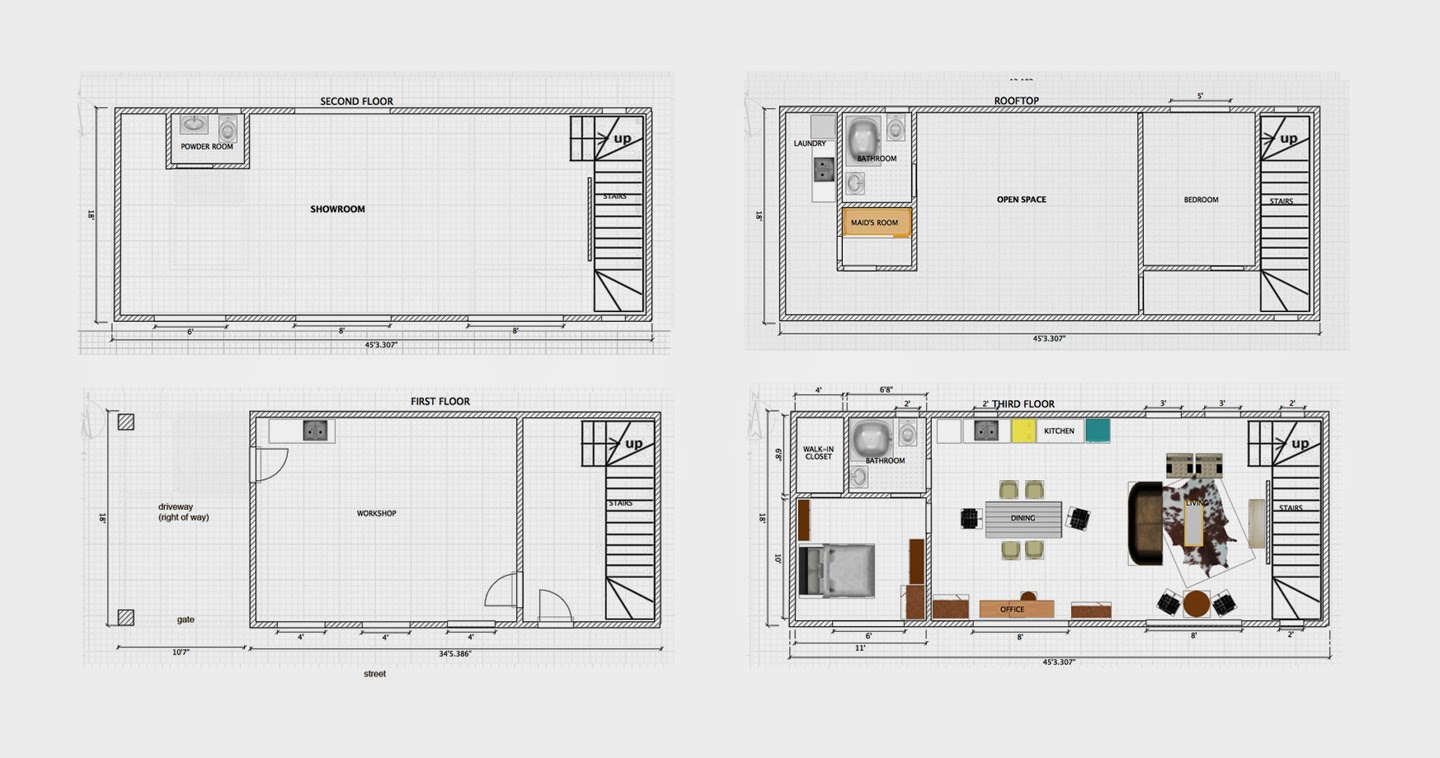 happy quote build dream home dream home floor plans Behind the Scenes of Project Dream Home A.K.A The Tiny House Renovation