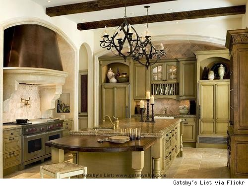 design for the seasons Green In Kitchens