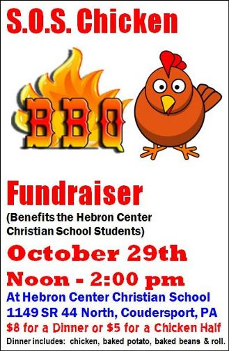 10-29 Chicken BBQ, Hebron Center