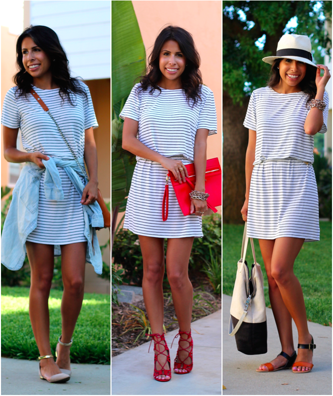 target style, striped dress, what is fashion, summer outfit ideas, ways to wear