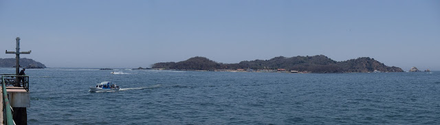 Ixtapa and ZihuatanajoWe arrived to Ixtapa midday and stopped at a Trailer Park on the ocean. It was nice and quiet, but far from the town and the main beach so we decided to keep on going making a few stops along the way. Ixtapa has a big swimming bea...