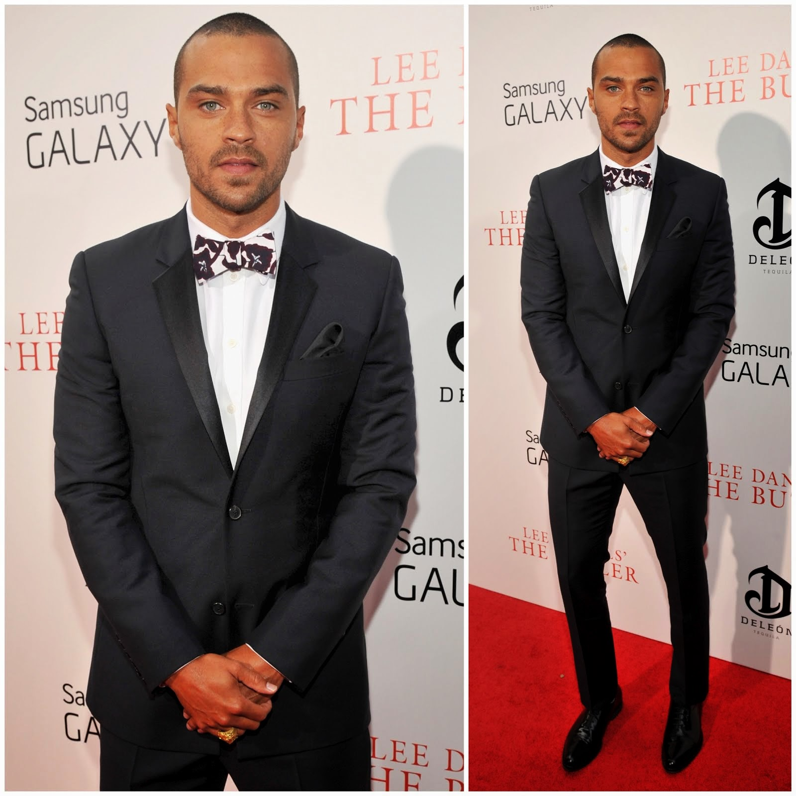 00O00 Menswear Blog Jesse Williams in Givenchy - 'The Butler' World Premiere, New York August 2013