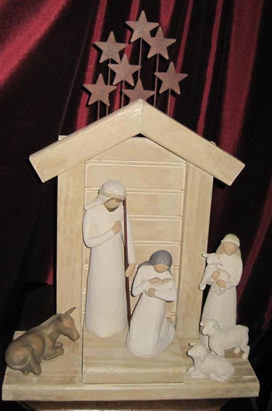 Greene Acres Hobby Farm Diy Nativity Creche