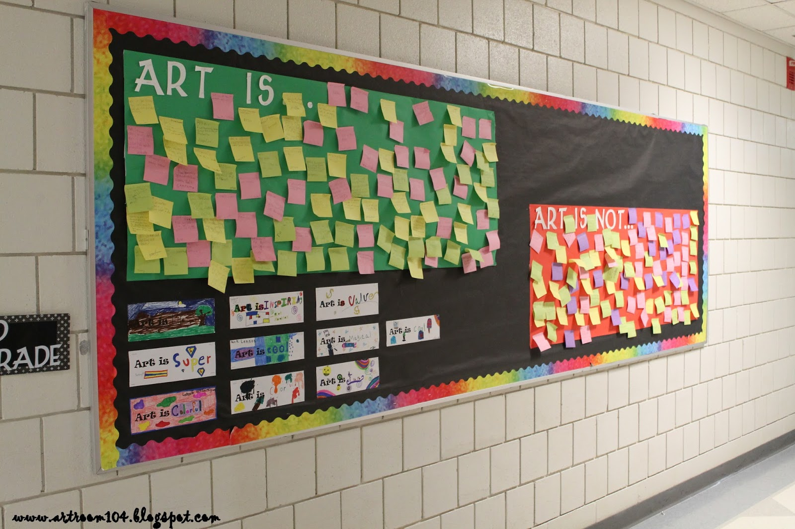 Art Room 104: First Full Week: Elementary