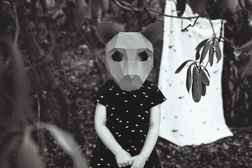 Beau LOves SS15 - mini mask dress