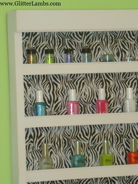 Zebra Nail Polish Rack 34