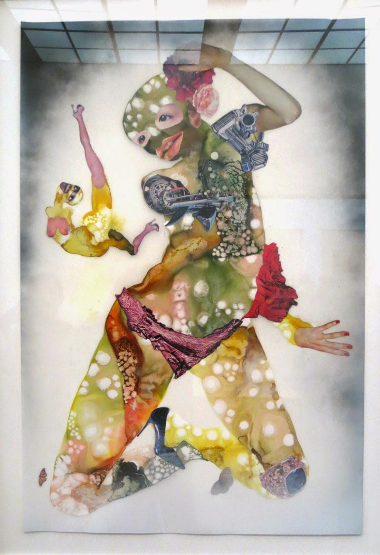 Collage by Wagechi Mutu