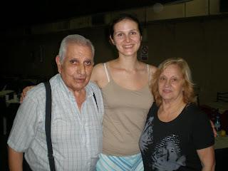 Фото с Карлосом и Розой Перез, Буэнос-Айрес.