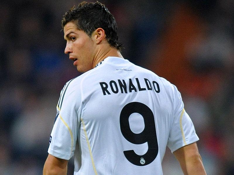 cristiano ronaldo number 9