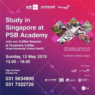 Study in singapore at PSB Academy