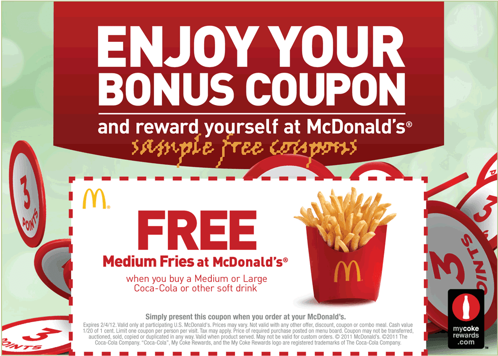 McDonald's Coupon Codes and Offers Today: Get Flat 50% Off + Free Burger of your choice + Extra Rs 25 CashKaro Cashback. McDonalds Coupons and Promo Codes are expiring soon. Valid for New Users and Existing Users. Grab this Mcdonalds offer now!