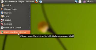 Ubuntu Szoftverközpont