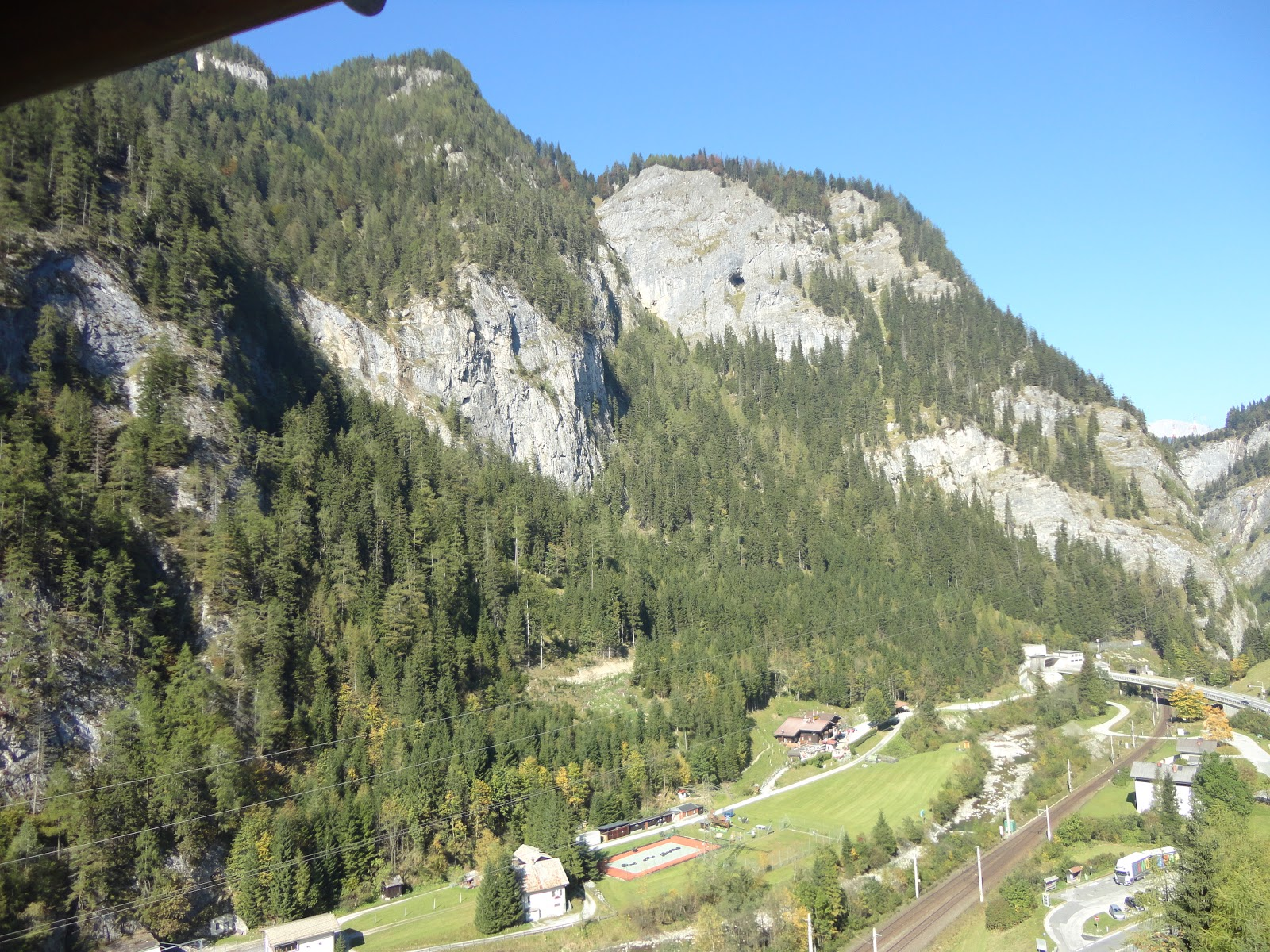 Road from Salzburg To Bad Gastein in Austria