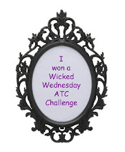 I won at Wicked Wednesday ATC Challenge Nov 2011