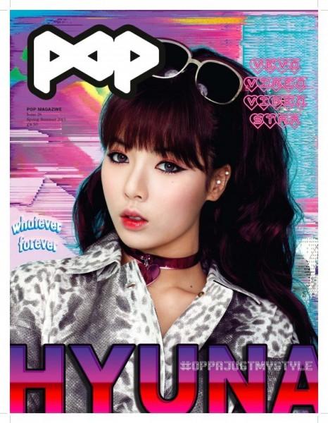 Foto HyunA 4Minute