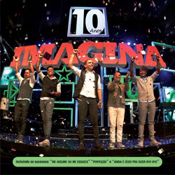 capa Download – Imaginasamba   10 Anos Ao Vivo  – DVDRip AVI + RMVB