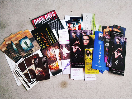 Swag from authors & publishers