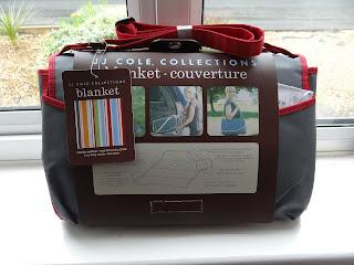 JJ Cole Picnic Blanket, Large Picnic Mat, Designer picnic blanket