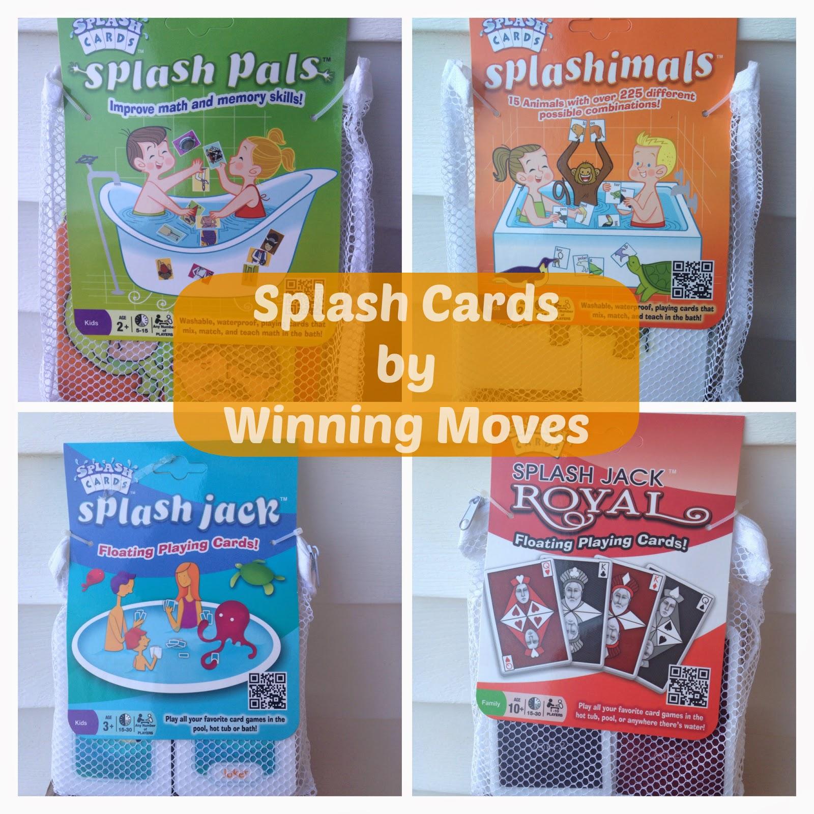 Enter the Winning Moves Splash Cards Giveaway. Ends 4/26.