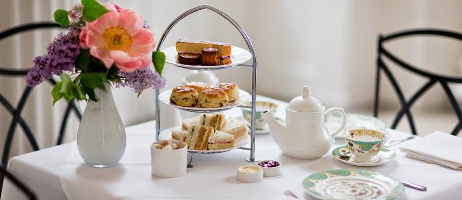 Afternoon tea at The Orangery - Kensington Gardens
